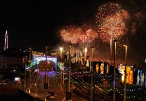 View from the Starlight Penthouse Suite of Blackpool Illuminations (September-November Only)